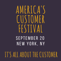 American Customer Festival 2016 New York