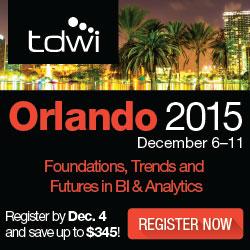 TDWI Orlando 2015