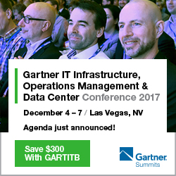 Gartner Infrastructure