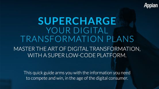 SUPERCHARGE YOUR DIGITAL TRANSFORMATION PLANS