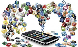iphoneapps1final 300x180 Social Media's Role in Modern Day Communication