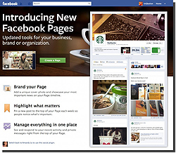 new facebook pages2 Facebook Offers New Features to Appeal to Businesses