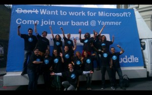 yammers response 300x187 Yammer want to Huddle? Those Crazy Social Collaboration Folks!