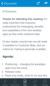 Huddle Note iOS Screenshot 2 175x300 Huddle Note Allows For Fast and Simple Content Creation in the Cloud