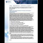 373803 changingfacess 150x150 IDC White Paper   The Changing Face of Collaboration in the Enterprise