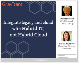small Hybrid IT Webinar Screenshot Integrate Legacy and Cloud with Hybird IT Not Hybrid Cloud