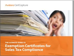 103597WP The Ultimate Guide to Exemption Certificates for Sales Tax Compliance