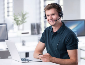 guy2 300x230 Questions You Should Ask When Choosing a Call Center Headset
