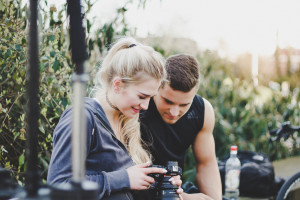 couple 300x200 Vlogging Tips for Beginners