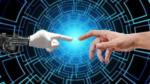 bot hand 300x168 Chatbots With Voice Recognition are Taking Customer Service to the Next Level