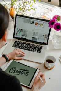 laptop 200x300 6 Tips for Designing a Professional Website and Brand