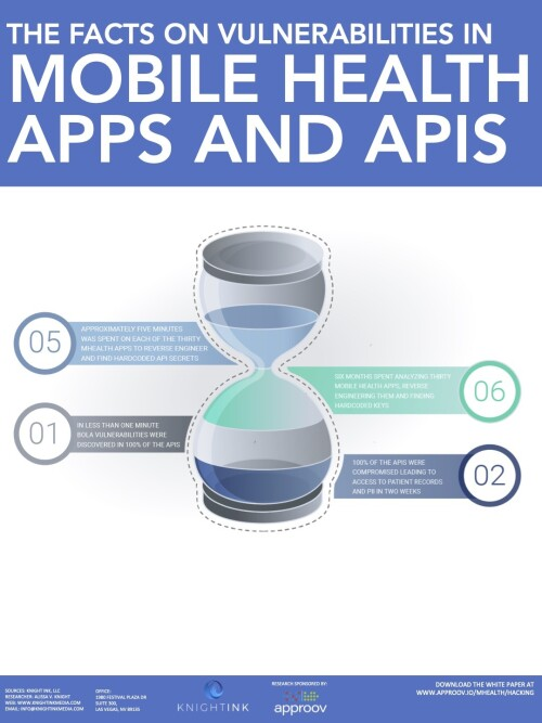 All That We Let In infographic e1612988975876 Mobile healthcare apps expose patient data through API focused mobile attacks, research shows