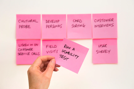 post it 5 Different But Effective Types of UX Testing You Should Know